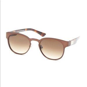 Kate Spade Arie Wayfarer copper brown sunglasses